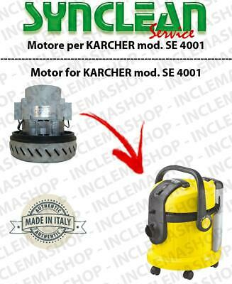 SE 4001 Vacuum motor SYNCLEAN  for vacuum cleaner KARCHER
