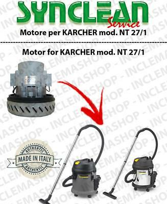 NT 27/1 Vacuum motor SYNCLEAN  for vacuum cleaner KARCHER