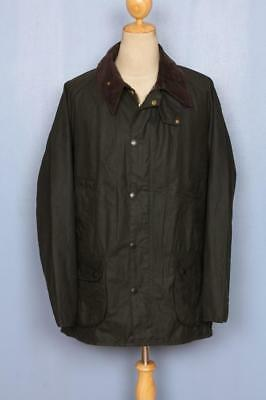 BARBOUR Bedale Waxed Jacket Green Size 46 XLarge