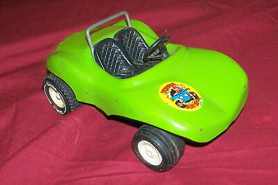 Old Tonka Fun Dune Buggy Vintage VW Car Toy US Pressed Metal Auto Automobile Bug