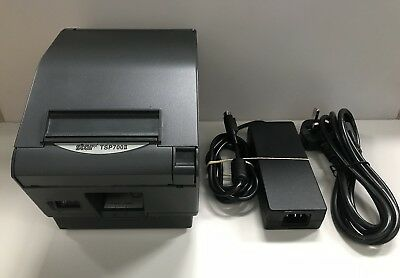 STAR TSP700II Thermal Label Ticket Receipt Printer USB with Power Supply