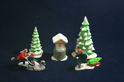 NEW ENGLAND WINTER ACCESSORY SET The Heritage Collection Department 56