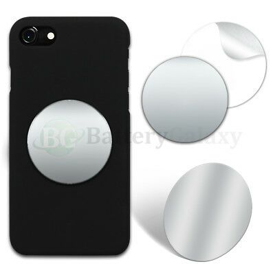 "50X Selfie Small Mirror Circle 2"" Anti-Scratch for iPhone /Android Cell Phone"