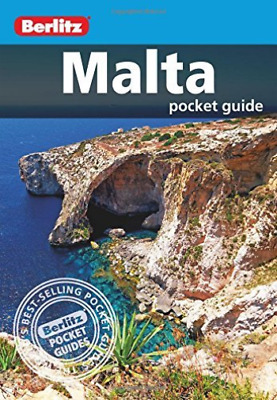 Berlitz Pocket Guide Malta BOOK NEW