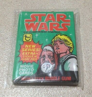 1977 Topps Star Wars Series 4 - Wax Pack