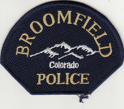 Broomfield Police Patch Colorado Co