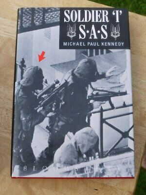 Soldier I S.A.S. by Kennedy, Michael Paul Hardback Book The Cheap Fast Free Post