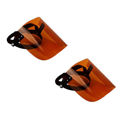 2Pcs Adjustable Headgear Full Face Mask Facesheild for Grinding Protector