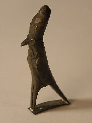 Small Bronze Figure Of Horus