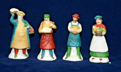 SHOPKEEPERS  Set of 4 townspeople The Heritage Collection Department 56