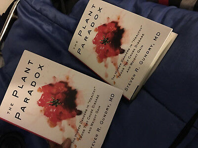 The Plant Paradox : The Hidden Dangers in Healthy Foods..Hardcover _New_freeship