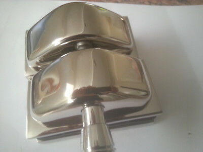 Magnetic Gate Latch (Side Pull) - Steinless Steel 316 -- Mirror Finish including