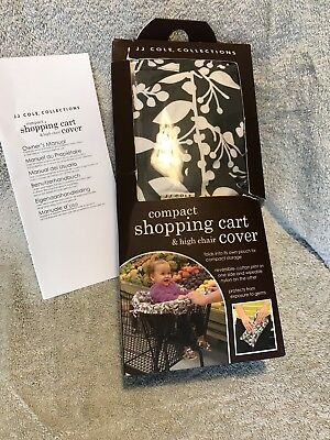 JJ Cole Collections Ash Woodland Baby Shopping Cart Cover New