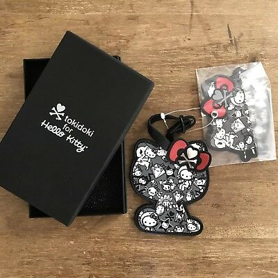 ff55b1efc6a1 Tokidoki Hello Kitty 35Th Anniversary Luggage Tag New Collectible Rare New