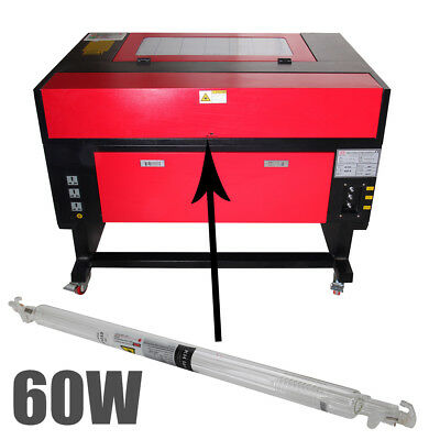 1000MM 60W Laser Tube Metal Head For CO2 Laser Engraving Cutting Machine DE