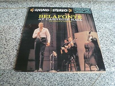 """Doppel-LP """"BELAFONTE AT CARNEGIE HALL"""", LIVING STEREO/RCA LSO-6006  - ungespielt"""