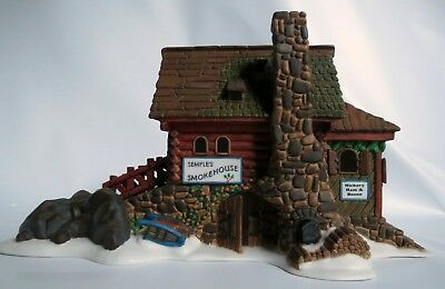 Dept 56 Semples Smokehouse New England Village 1997 Retired New Old Stock 56580
