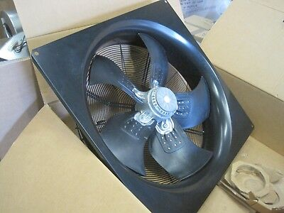 Large Plate Axial Extractor Fan 3 phase 710 diameter 16000m3/hr 3 phase 400v