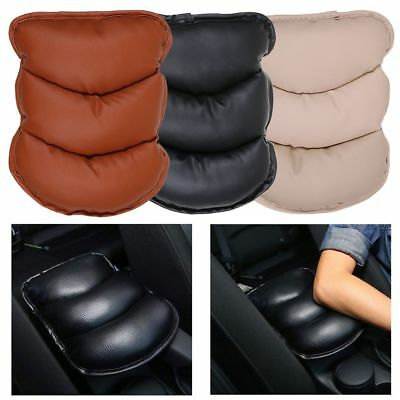 Car Armrest Pad Cover PU Leather Center Console Box Cushion Armrests Mat Pads