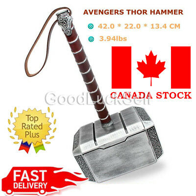 Avengers Thor the Dark World Hammer Mjolnir 1:1 Replica Prop Cosplay Mighty Prop