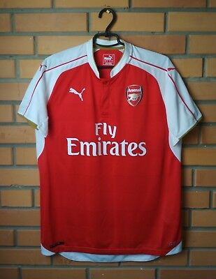 NEW PUMA ARSENAL Away SOCCER Jersey 2015   2016 Size XL -  42.99 ... e0d389fb7