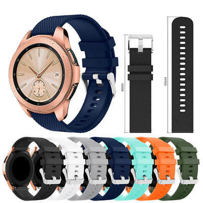 For Samsung Galaxy Watch (42mm) Replacement Silicone Wrist Watch Band Strap NEW