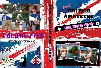 "Men""s Interest DVD Fiona Cooper type DVD  REAL BRITISH AMATEURS VOL FIVE"