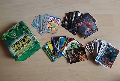 Topps Marvel Hero Attax DC HULK Trading Card Lot Konvolut