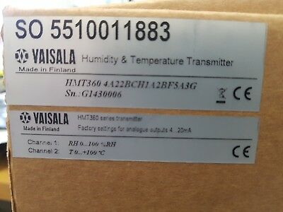 Vaisala HMT360 Humidity Temperature Transmitter & Probe.