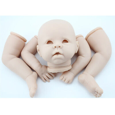 Multi 18inch-28inch Reborn Kits Silicone Baby Mold Unpainted Head Full Limb DIY