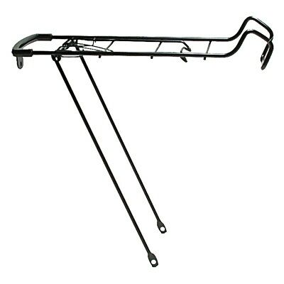 Oxford Bicycle Cycle Bike Steel Spring Top Luggage Carrier Rack Silver LC690