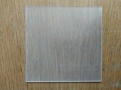 Polycarbonate Sheet - 2mm Thick - 160x160mm - Clear
