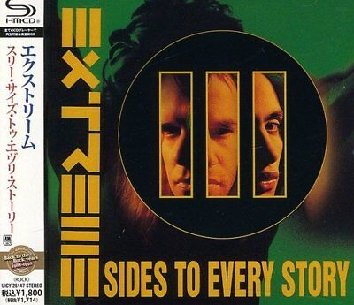 Extreme-Iii Sides To Every Story-Japan Shm-Cd D50