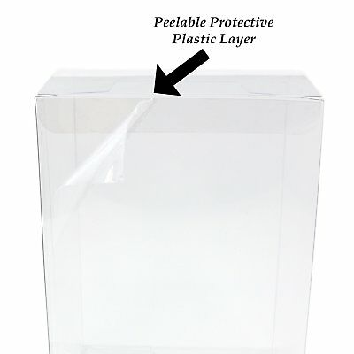 GosuToys Funko Pop Plastic Protector Case for 4 inch Figures .35mm (100 Pack)