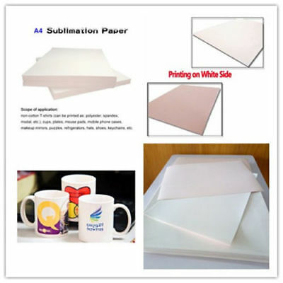 25sheet T-Shirt A4 Drying Transfer Paper Sublimation Paper for Polyester Fabric