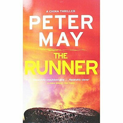 Peter May The Runner Book The Cheap Fast Free Post