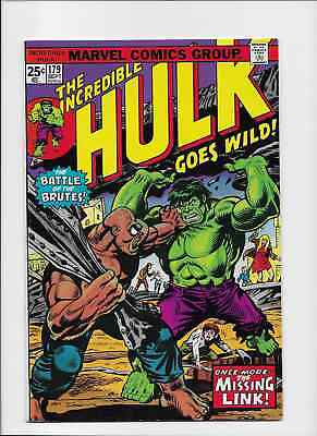 THE INCREDIBLE HULK - 179 - September 1974. VFN (8.0)