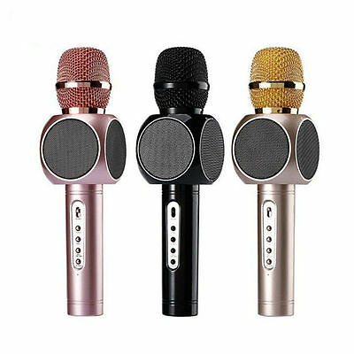 E-103 Bluetooth Handheld Wireless KTV with Karaoke Microphone Mic Speaker Phone