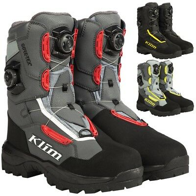 Klim Adrenaline Pro GTX BOA Mens Sled Mens Riding Gear Snowmobile Boots