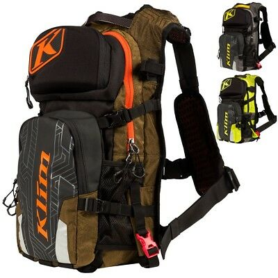Klim Nac Pak Mens Motorcycle Backcountry Tool Pack Hydration Backpacks
