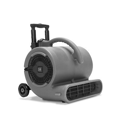 B-Air VP-50 1/2 HP Air Mover Floor Fan Carpet Dryer Air Blower w/ Wheels Handles
