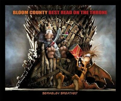 Bloom County: Best Read On The Throne [New Book] Graphic Novel, Paperback