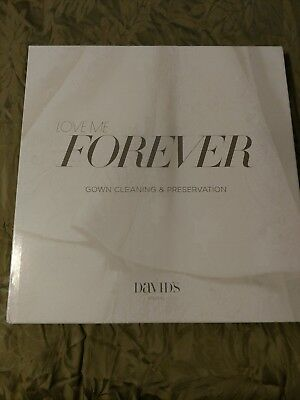 David's Bridal Forever Box Wedding Gown Cleaning And Preservation Kit - NEW!!