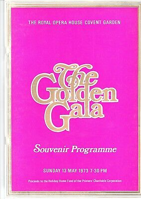 Royal Opera House Golden Gala - May 1973 - Mackerras - Copley - Lpo