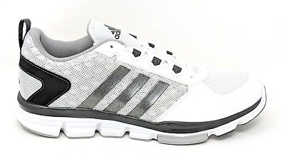 adidas Men's Speed Trainer 2 Baseball  Wide Width White/Silver #B54355