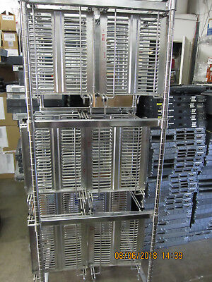 Metro Rack Super Erecta Cart with 6 x PCB Carriers Complete