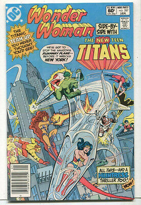 Wonder Woman Side-By- Side With New Teen Titans #287 VF/NM DC Comics CBX2A