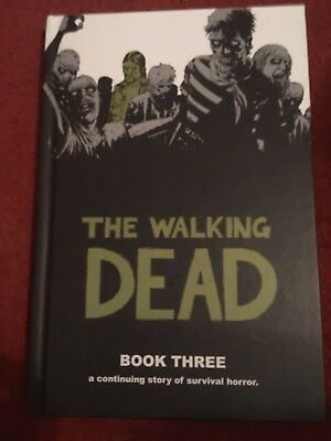 Walking Dead Deluxe Edition Book Three 3 HB Graphic Novel