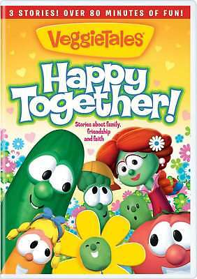 New: VEGGIE TALES - Happy Together [3 Stories/Over 80 Mins Of Fun!]