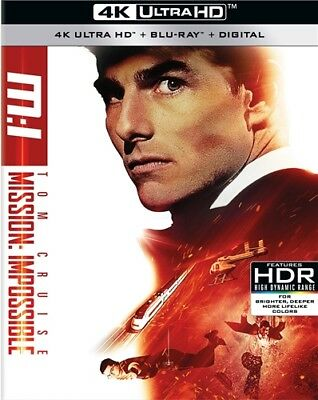 MISSION IMPOSSIBLE New Sealed 4K Ultra HD UHD + Blu-ray